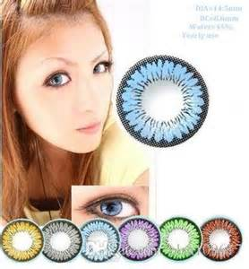 free colored contacts sle by mail with free shipping color series big eye contacts colorful contact
