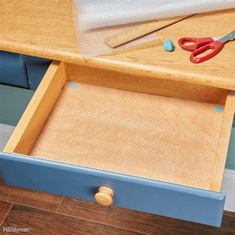 Plastic Drawer Liners by How To Line Drawers And Cabinets With Shelf Liner The