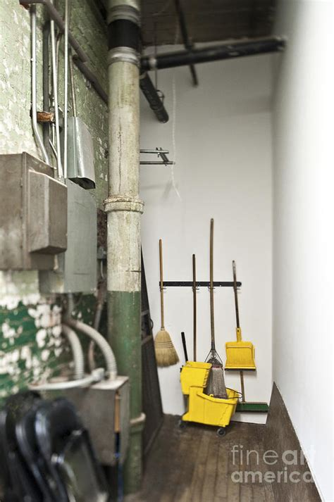 Janitor Closet by Janitor Closet Photograph By Eddy Joaquim