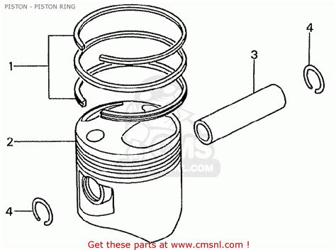 Ring Set Piston Ring Seher 0 50 Toyota Land Cruiser Prado Hilux honda tn360k3 tn7 rh drive kmh type kt piston piston