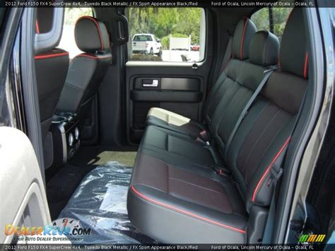 ford truck seats 6 rear seat of 2012 ford f150 fx4 supercrew 4x4 photo 6