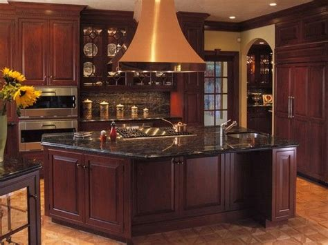 dark kitchen cabinets with dark countertops black granite countertops a daring touch of