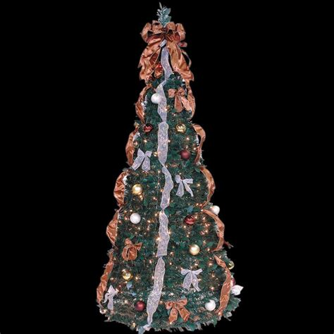 pre-lit 7.5 ft christmas tree