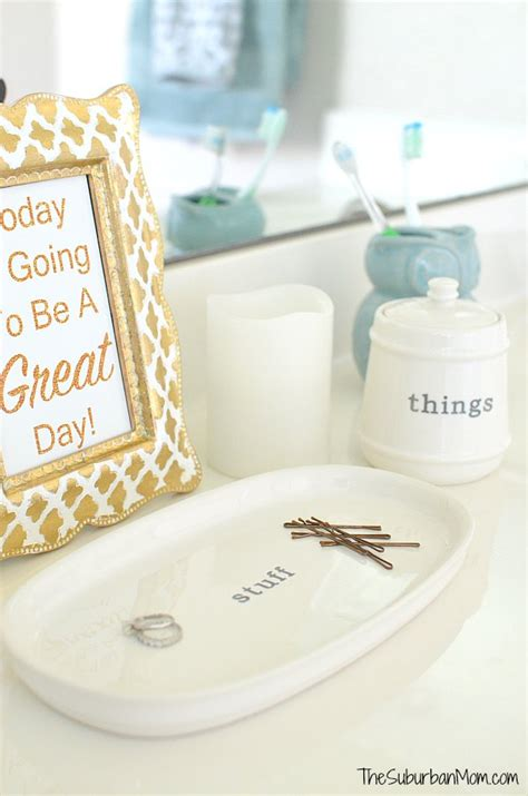 Today Is Going To Be A Great Day Free Printable Sign Better Homes And Gardens Bathroom Accessories