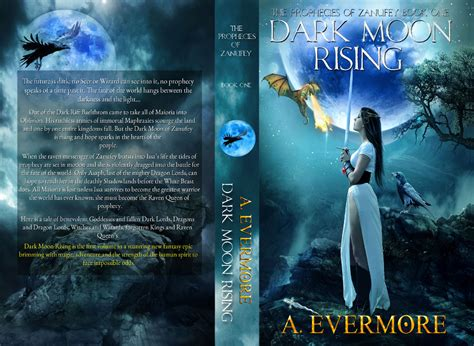 black moon rising books moon rising book cover a evermore