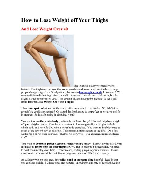 how to get your to lose weight losing fast exercises