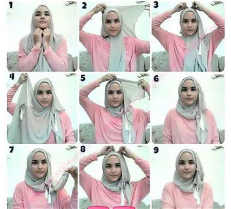 tutorial jahit jilbab tutorial jilbab untuk kebaya modern aneka cara memakai