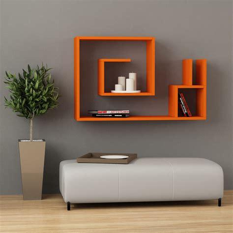 mensola a parete betany scaffale mensola design da parete in legno 90 cm
