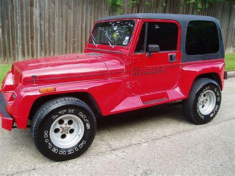 Jeep Renegade Sale 1991 Jeep Renegade For Sale Houston