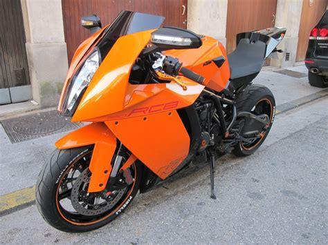 Ktm Rc8 Orange Ghost Rider Ktm Rc8 1190 Orange Mecanique