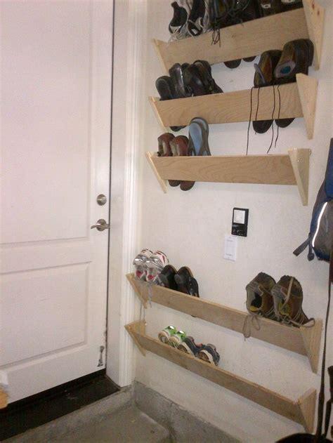 entrance shoe rack best 25 garage shoe storage ideas on pinterest shoe