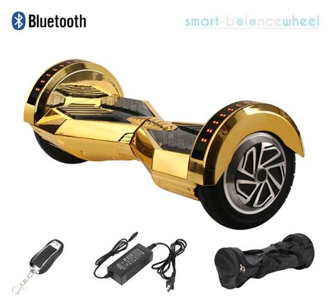 Speaker Bluetooth M 9 Gold Pink Silver 8 quot gold hoverboard with bluetooth speakers and lights