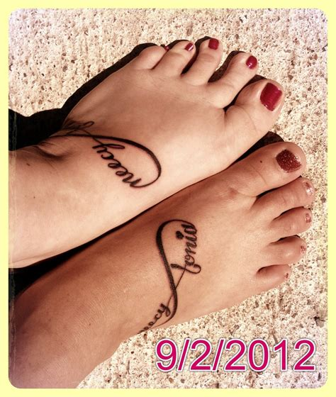 best friend infinity tattoos matching infinity friendship tattoos best friends