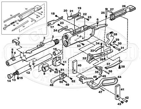 winchester 1894 parts diagram 1892 accessories numrich gun parts