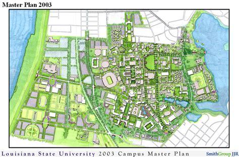 lsu master plan principles in detail