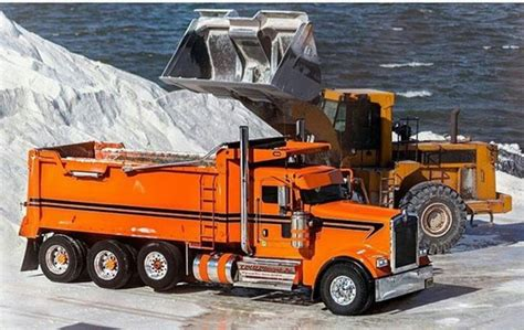 build your own kenworth truck 17 best images about tandems and end dumps on pinterest