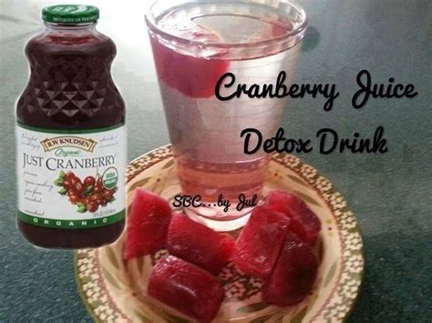Cranberry Juice Detox Benefits by 47 Best Images About Detox Waters On Lemon
