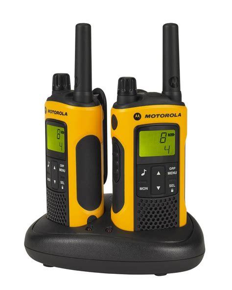 Motorola Tlkr T80 Walkie Talkie motorola 10km tlkr t80 range walkie