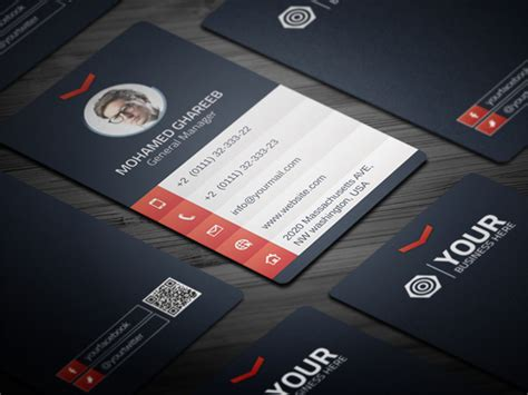 id card design vertical psd creative corporate business card 29 by mohamed dribbble