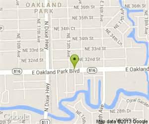 oakland park fl maps images