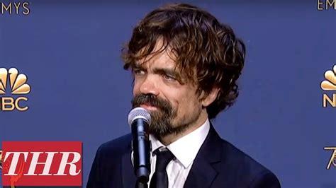 peter dinklage emmy 2018 peter dinklage 2018 emmy awards winner backstage