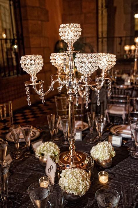 4pcs K9 Crystal Candelabra Centerpiece 5 Arms Wedding Candelabra Wedding Centerpieces