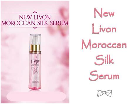 Serum Raj livon moroccan silk serum