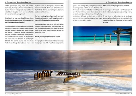 landscape photography magazine feature john chapple
