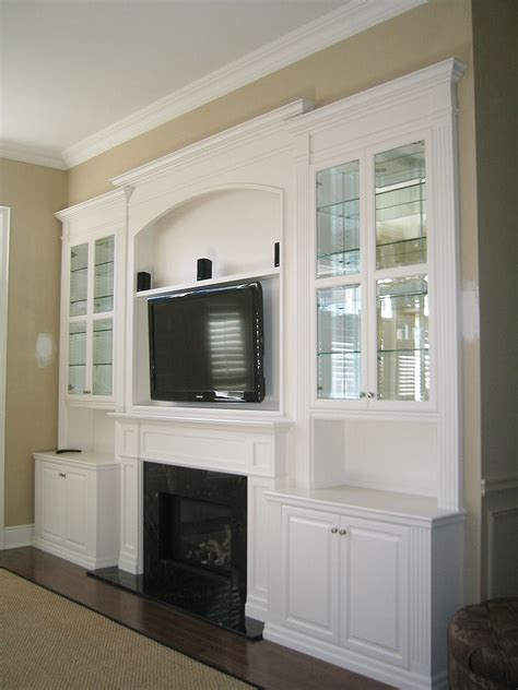 White Wall Units White Lacquer Wall Unit With Tv Amp Fireplace Inserts