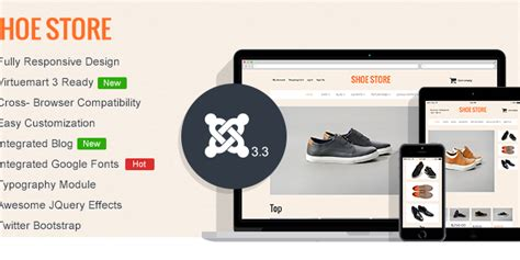 shoes store virtuemart 3 template virtuemart templates free