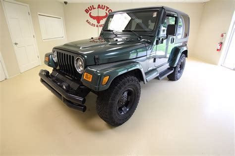 2001 jeep wrangler stock 17120 for sale near