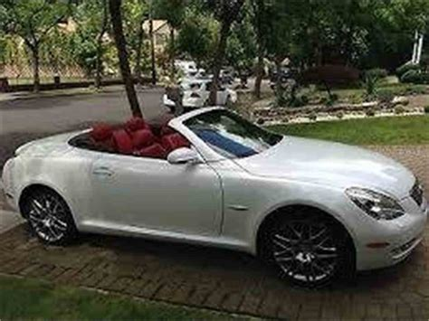 lexus convertible sc430 2007 lexus sc430 pebble edition convertible for sale