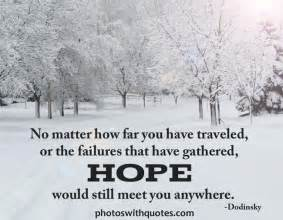 Picture Quote about Hope | Don't lose hope, the fog will lift.