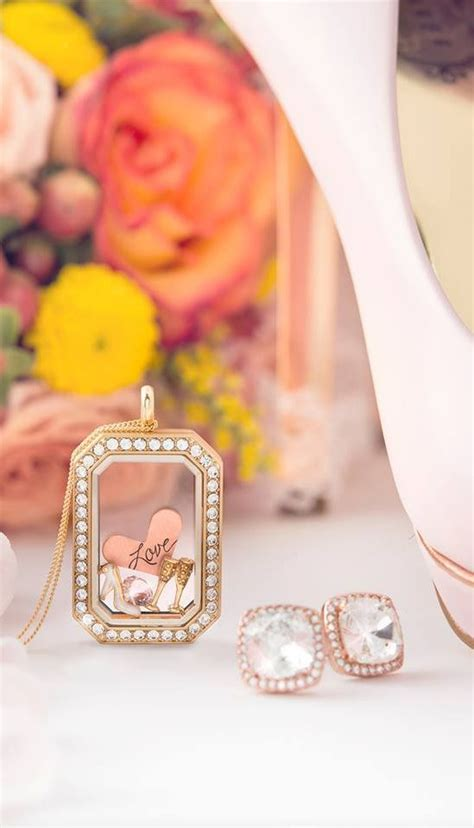 Origami Owl Wedding Locket - origami owl heritage locket with wedding charms and