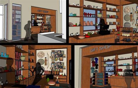 gift shop design layout and the beat goes on design matters