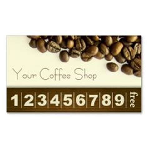 coffee punch card template 1000 images about coffee loyalty card on