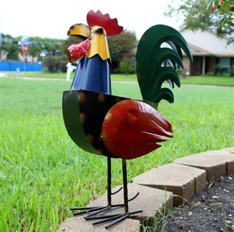 vintage metal dog garden sculpture ornament outdoor indoor yard art egifthomecom
