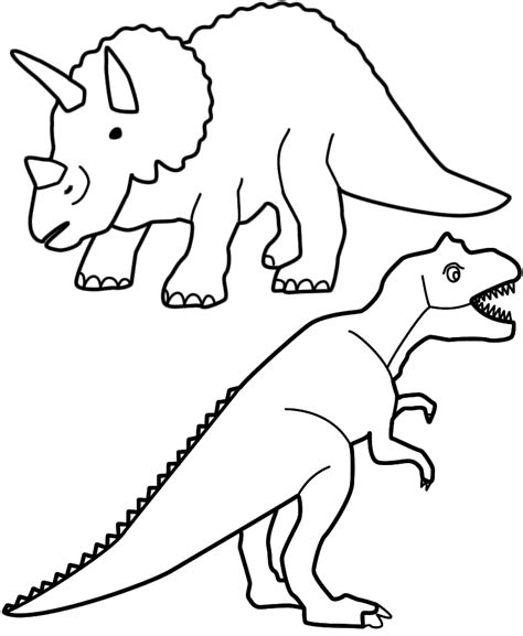 cartoon t rex coloring page t rex coloring pages coloring home