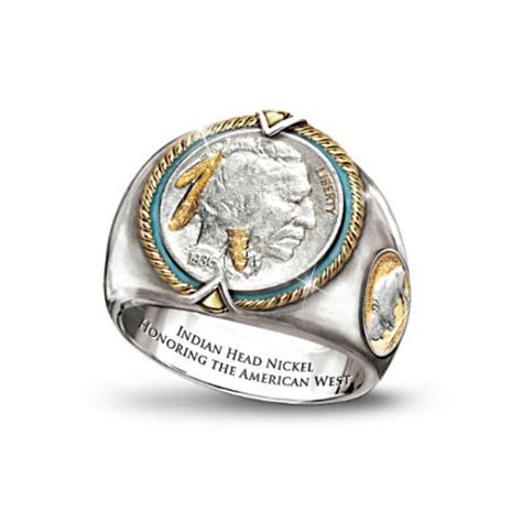 Ring Nikel indian nickel s ring