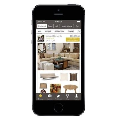 home design software mobile app nousdecor 174 launches mobile app for crowd sourced interior design and home decorating