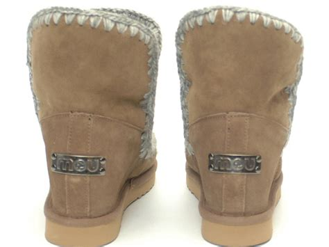mou boots eskimo suede inner wedge niutrack