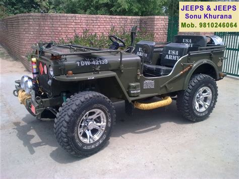 jeep punjab modified jeeps mandi dabwali call 9810246064 jeeps modify