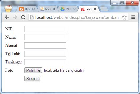 codeigniter tutorial upload image tutorial pemrograman dan source code android web mobile