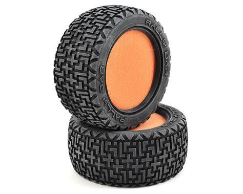 Promo Reston Sponge Tires Orange Losi Ten Rally X Tires W Foam 2 Los43001 Cars
