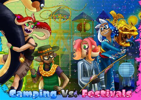 splatoon fan splatfest cing vs festivals by