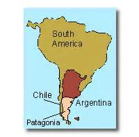 map of patagonia south america patagonia travel argentina and chile tours