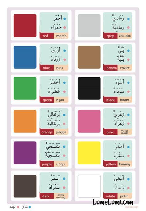 tutorial belajar bahasa inggris untuk anak anak poster belajar mengenal warna untuk anak anak toko