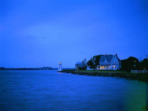 blue seas house wallpaper free wallpaper สวยๆ wallpaper น าร ก วอลเปเปอร