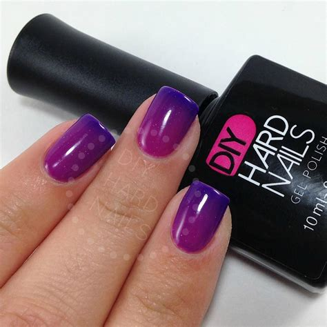most popular purple gel nail color purple rain color changing gel nail polish diy best