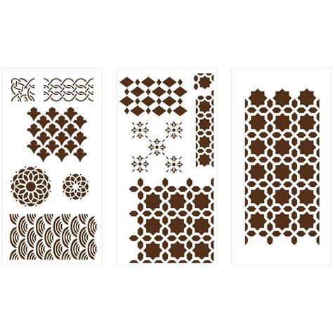 geometric pattern laser cut martha stewart crafts geometric patterns laser cut